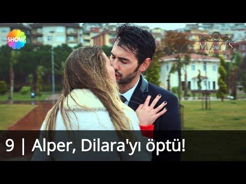 Alper, Dilara'yı öptü! | Mayıs Kraliçesi 9.Bölüm