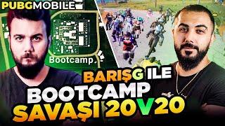 20 vs 20 BOOTCAMP KAPIŞMASI! EGOİST PATİ vs BARIŞ G! PUBG Mobile Discord Savaşları #2
