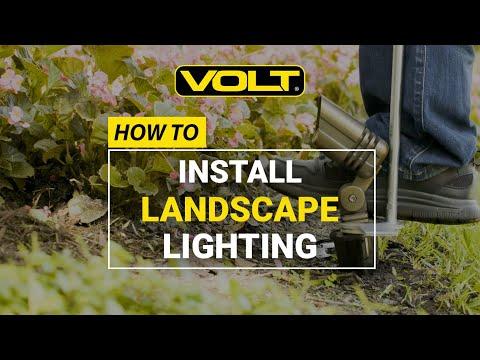 https www voltlighting com learn how to install landscape lighting