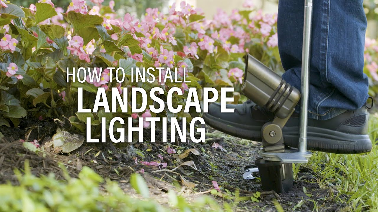 How To Install Landscape Lighting Easy Diy Guide Youtube