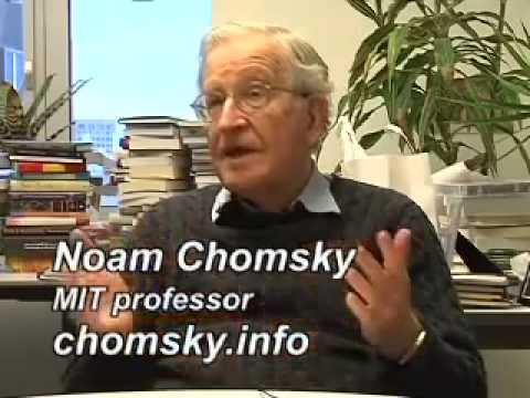 Noam Chomsky - O Perigo da Campanha Contra o Aquecimento Global