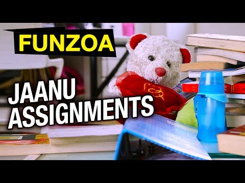 FUNZOA VINE 10 | JAANU ASSIGNMENTS KAR DO | Funny Girl Boy Love Talks | Mimi Teddy Bojo Teddy Funzoa