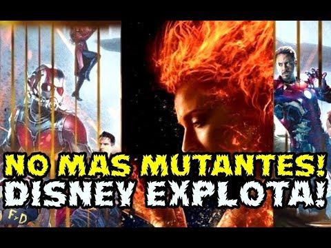 NO MAS MUTANTES! DISNEY CABREADA CON FOX X-MEN DARK PHOENIX SERA LA ULTIMA PELICULA