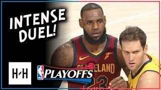 Bojan Bogdanovic vs LeBron James INTENSE Duel Highlights 2018 Playoffs Game 3 - MUST WATCH!
