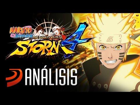 Naruto Shippuden Ultimate Ninja Storm 4 - Análisissssssssss!