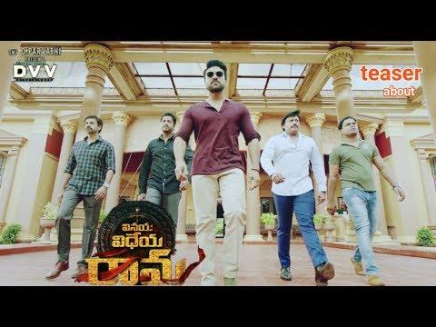Ram Charan Vinaya Vidheya Rama teaser About
