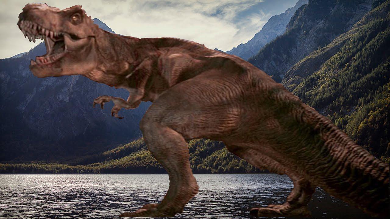 Jurassic Park T Rex Roar How The T Rex F...