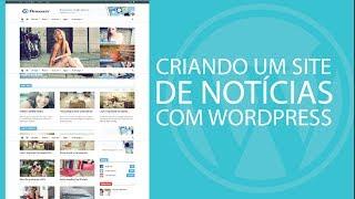 Criando um portal de notícias com o WordPress - Parte 1