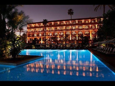 Viaggio in Marocco  Marrakech il Famoso Hotel Mamounia 1