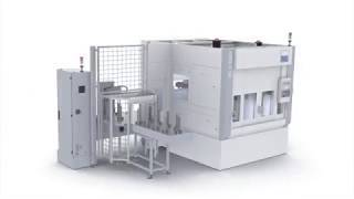 VL 3 DUO – Doppelspindlige Drehmaschine für die hochproduktive Fertigung