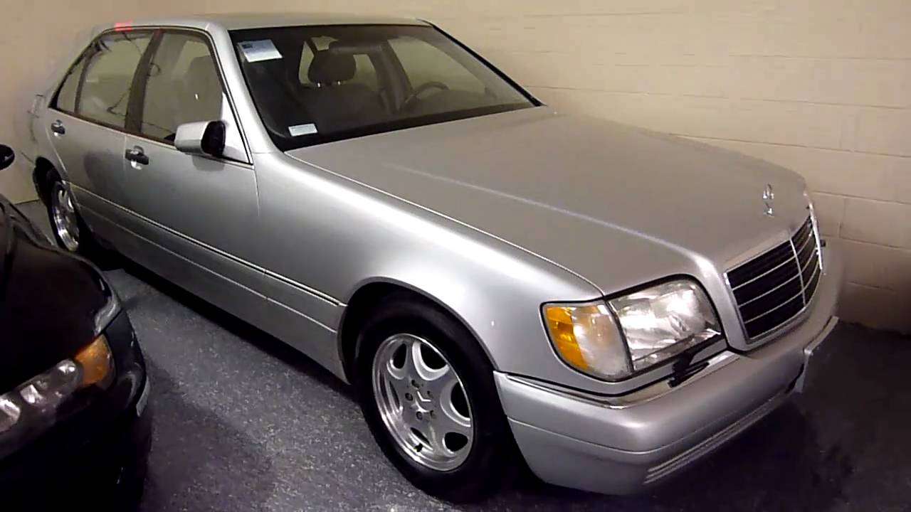 1999 mercedes benz s420 4dr sedan 1975 sold youtube for Mercedes benz s420 for sale