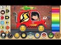 Build Your Own Superhero FLASH Car with Pepi Ride (by Pepi Play) - Car Games for Kids to Play