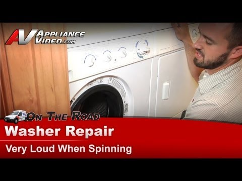washer machine making noise when spinning