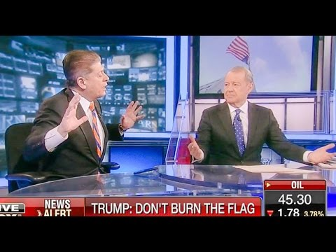 """""""What Is Wrong With A Penalty For Burning The American Flag?"""""""