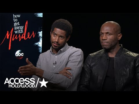 Alfred Enoch & Billy Brown On The Return Of 'How To Get Away With Murder'  Access Hollywood