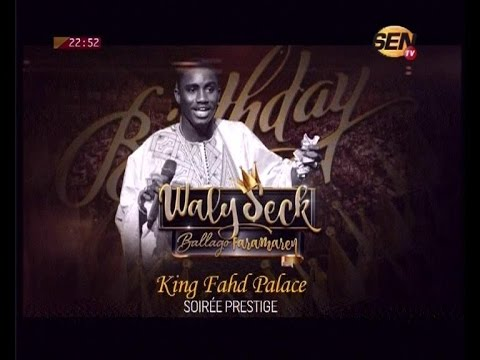 Wally Seck au King Fahd Place 2016 LIVE Intégral
