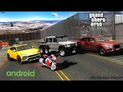 Premium Pack V5 GTA SA Android  Lamborghini Urus | 20 Cars!