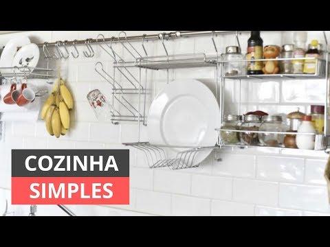 Cozinhas Simples e Bonitas | Ideias e Inspirações