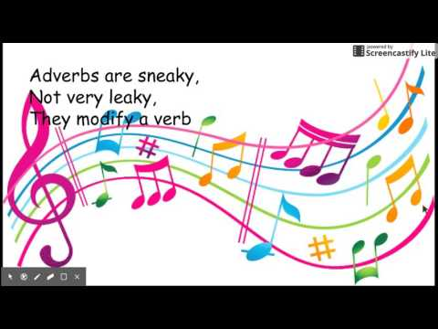 Adverbs Song