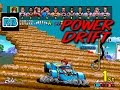 1988 [60fps] Power Drift Course A 7'32''35 ALL