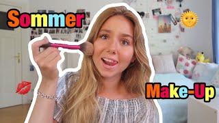 Mein Sommer Make-Up & Talk!!🌞❤️