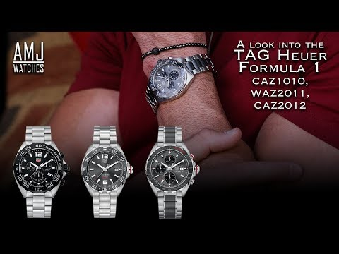 A Look Into The TAG Heuer Formula 1