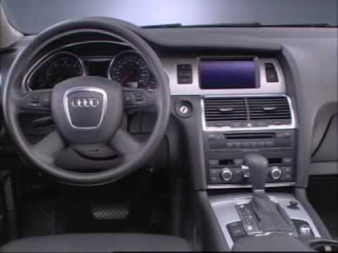 Audi Q7 - Studio interior