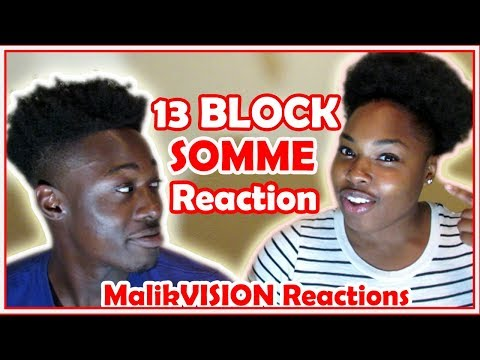 Americans REACT TO FRENCH Rap (13 ( Treize) Block Somme) Reaction | MalikVISION REACTIONS