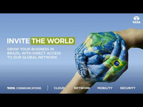 Announcing Tata Communications' expansion into Brazil