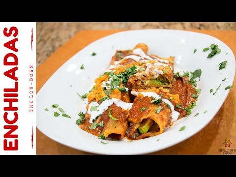 Delicious Mexican Enchiladas Vegan Recipe