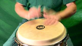 Djembe Solo Jam - Western Contemporary Funk Fusion Drumset Style