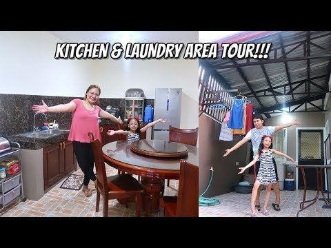 KITCHEN & LAUNDRY AREA TOUR + GIVEAWAY!!! (Philippines residents only) - MichelleFamilyDiary