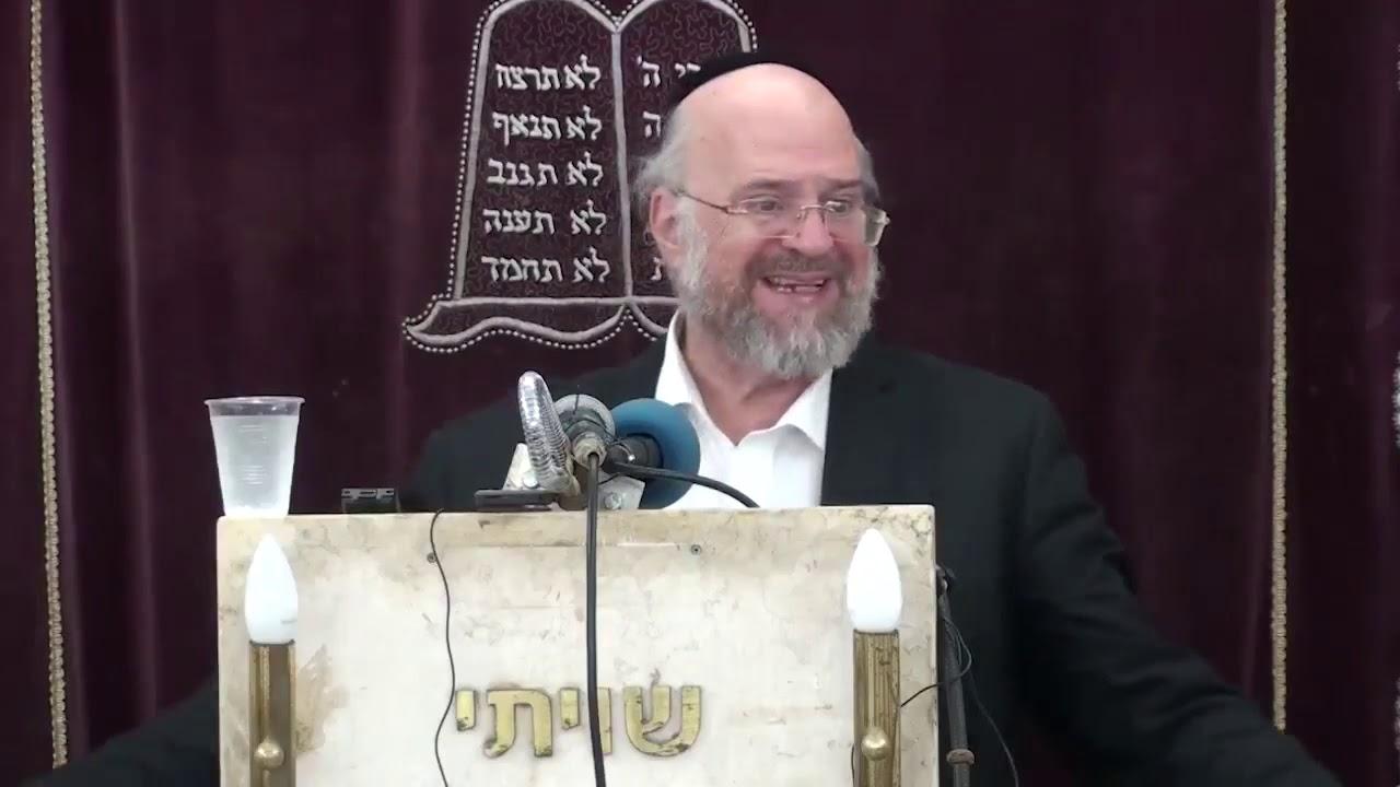 הרב ברוך רוזנבלום   פרשת נח ה'תשעט