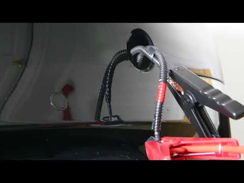 Tesla Model 3: Opening The Frunk with 12V Power Supply / Jump Start