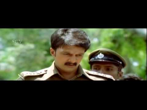 Hebbuli Sudeep Arrest's Weapon dealers Kannada Scenes | Hubballi Kannada Movie | Kannada Scenes