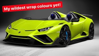MY NEW LAMBORGHINI NEEDED A NEW COLOUR?!