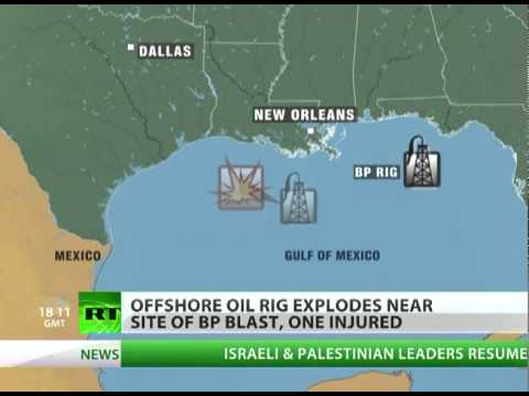 Another offshore oil rig explosion in Gulf of Mexico
