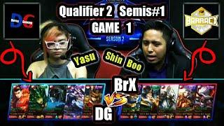 Game1 Durog Gaming VS BarrackX DK MPL-PH S2 (Qualifier 2 Semifinals 1) Best of 3