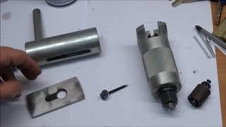 как открыть навесной замок типа краб обзор немецкого съемника выдра для замков Open a Lock