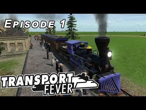 Transport Fever | Episode 1 | Central USA Map 1850