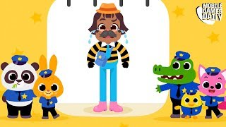 PINKFONG THE POLICE - Gameplay Part 2 (iOS Android) - Games For Kids