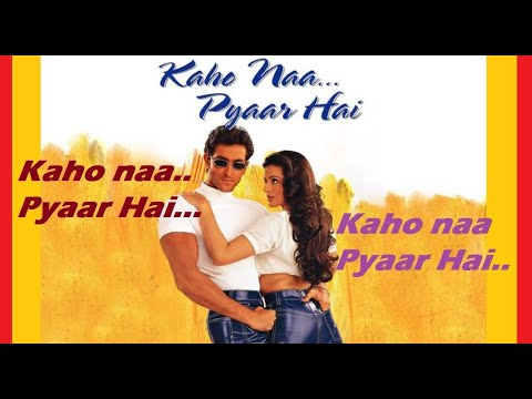 Kaho Naa Pyaar Hai | Hrithik Roshan | Amisha PateL | Hindi Movie Full Album Song | MP3 Song |