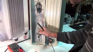 Ремонт масляного обогревателя, описание, устройство
