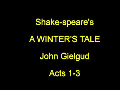 Shake-speare's  The Winter's Tale   -  Acts 1-3
