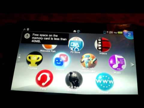 How to download (Games) on a PS vita for free.