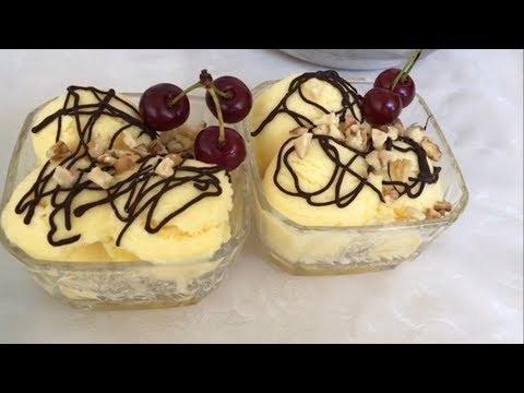 Asan,ucuz Ve çoox Lezzetli Dondurma.Vanilli Dondurma