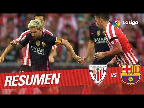 Resumen de Athletic Club vs FC Barcelona (0-1)