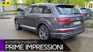 Audi SQ7 V8 - Prime impressioni