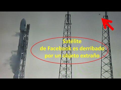 Resultado de imagen de ovni satelite facebook