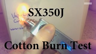Yihi Sx350j M Class - Cotton Burn Test